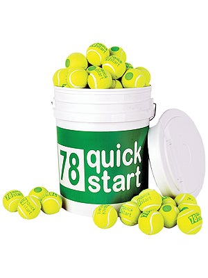 Quick Start Green Felt 36 Ball Bucket