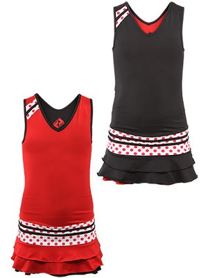 Switch Girl's Reversible Dress Black/Red