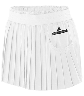 adidas by Stella McCartney - Tennis Skirt (White) - Apparel