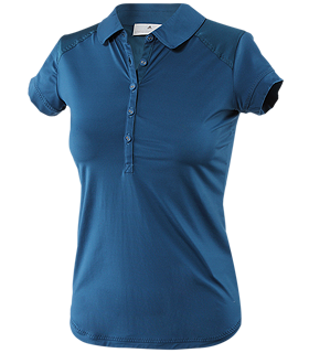 adidas by Stella McCartney - Tennis Performance Polo (Blueprint) - Apparel
