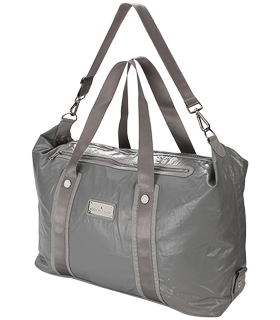 adidas by Stella McCartney - Tennis Bag (Aluminum) - Bags and Luggage