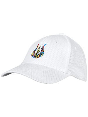 Solfire Men's Mesh Hat White/Multi
