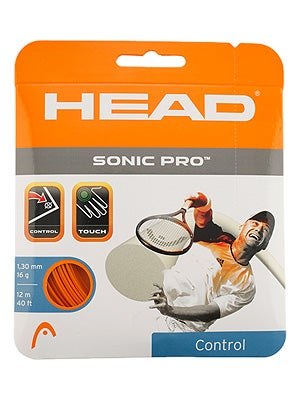Head Sonic Pro 16 tennis string review