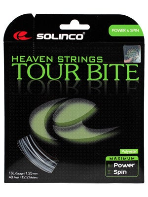 Solinco Tour Bite 16L (1.25) String Mini Reel 328'