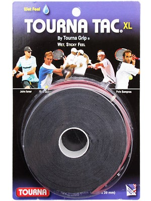 Tourna Tac Overgrip XL 10 Grip Reel Black