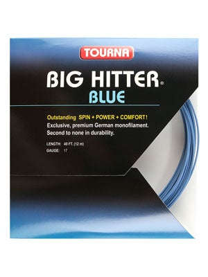 Tourna Poly Big Hitter Blue String 17