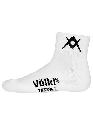 Volkl Men's Quarter Socks White
