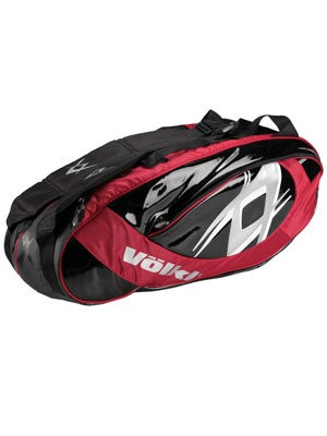 Volkl Team 6 Pack Bag Red/Black