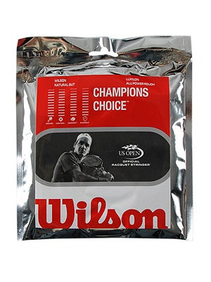 Tennis Warehouse Wilson Champions Choice String Review