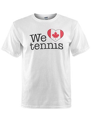 We Love Tennis Men's Canada T-Shirt