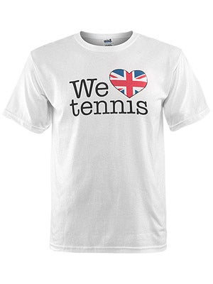 We Love Tennis Men's UK T-Shirt