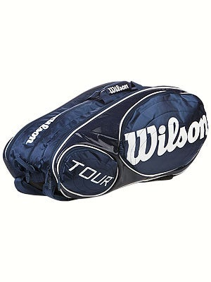 Wilson Tour Bag Blue/White 12 Pack Bag