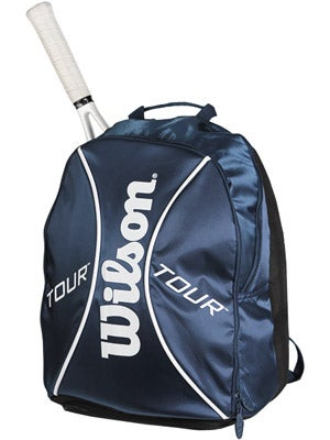 Wilson Tour Blue/White Back Pack Bag Small