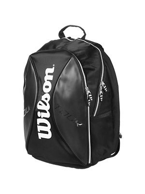 Wilson Tour Black/Silver Back Pack Bag