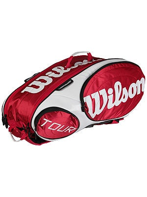 Wilson Tour Red 9 Pack Bag