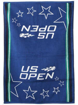 Wilson 2012 US Open Authentic On-Court Towel Blue/Green