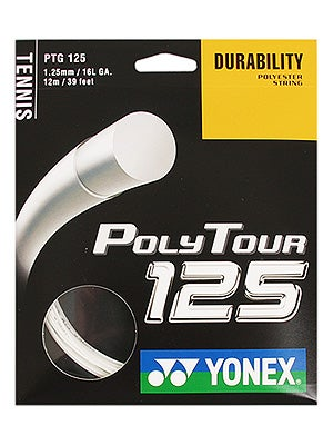 Yonex Poly Tour 16l tennis string review