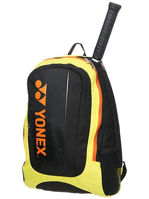 Yonex Tournament Basic Back Pack Bag Black/Yellow