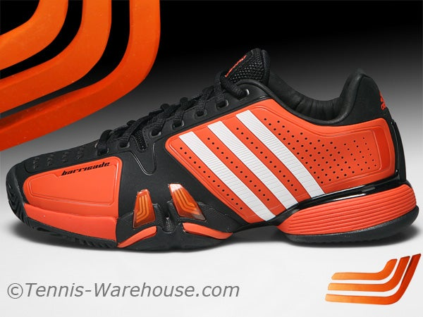 adidas orange tennis shoes