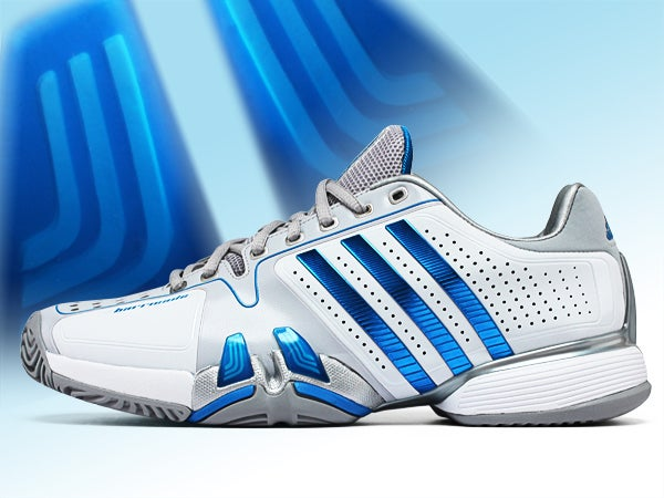 Tennis shoes, the essential article for tennis players.