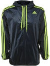 adidas Men's Spring Ultimate 1/2 Zip Wind Jacket