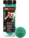 Pro Penn Green RbW Racquetballs 3 Ball Can