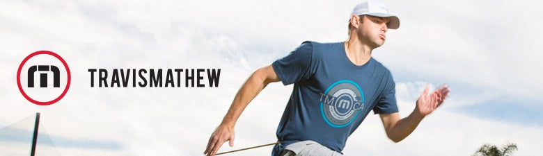 Travis Mathew Men's Tennis Apparel