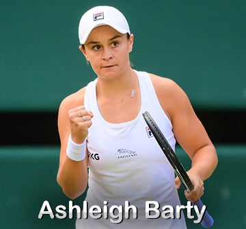 Ashleigh Barty Gear