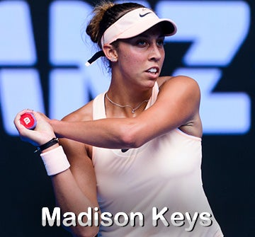 Madison Keys Gear