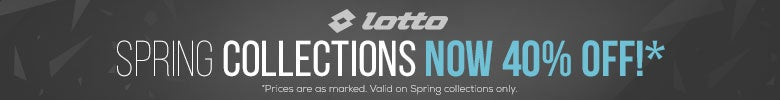 Lotto Spring Collection 40% Off
