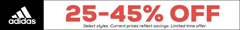 adidas 25-45% Off