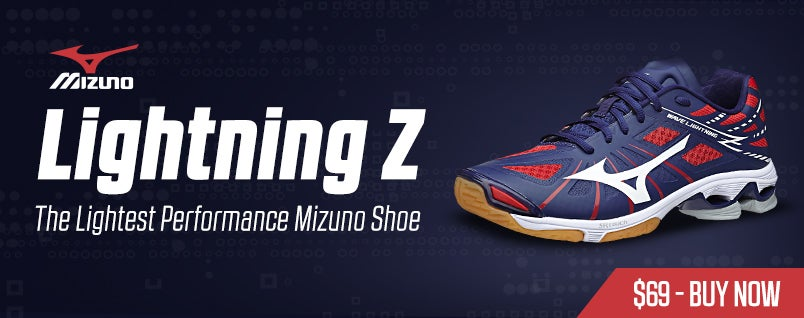 Mizuno Lightning Z Blue