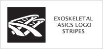 Exoskeletal Asics Logo Stripes