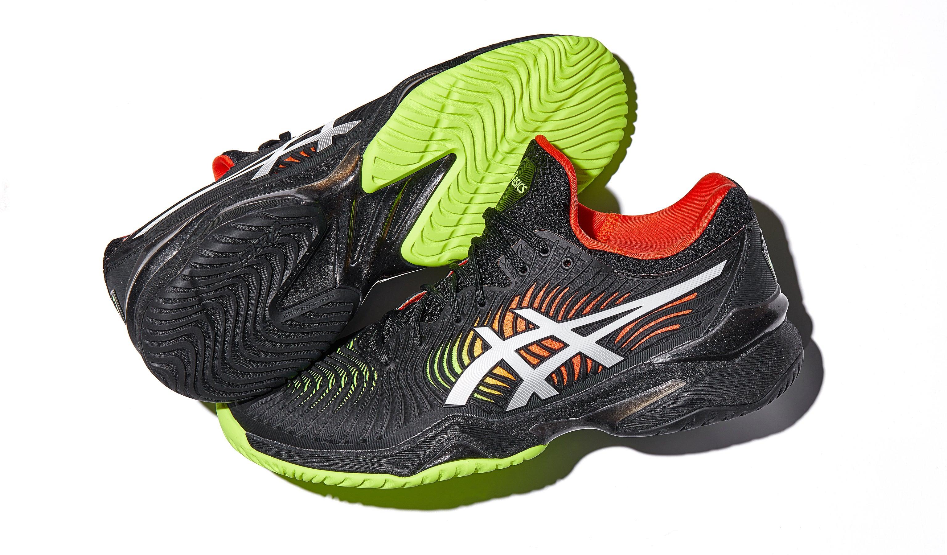 Asics Court FF 2 BlackYellowRed Men's Shoes