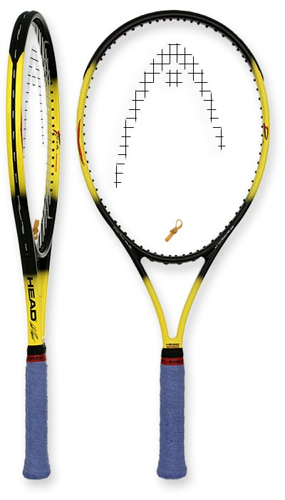 tennis warehouse head agassi radical limited edition racquet review. Black Bedroom Furniture Sets. Home Design Ideas
