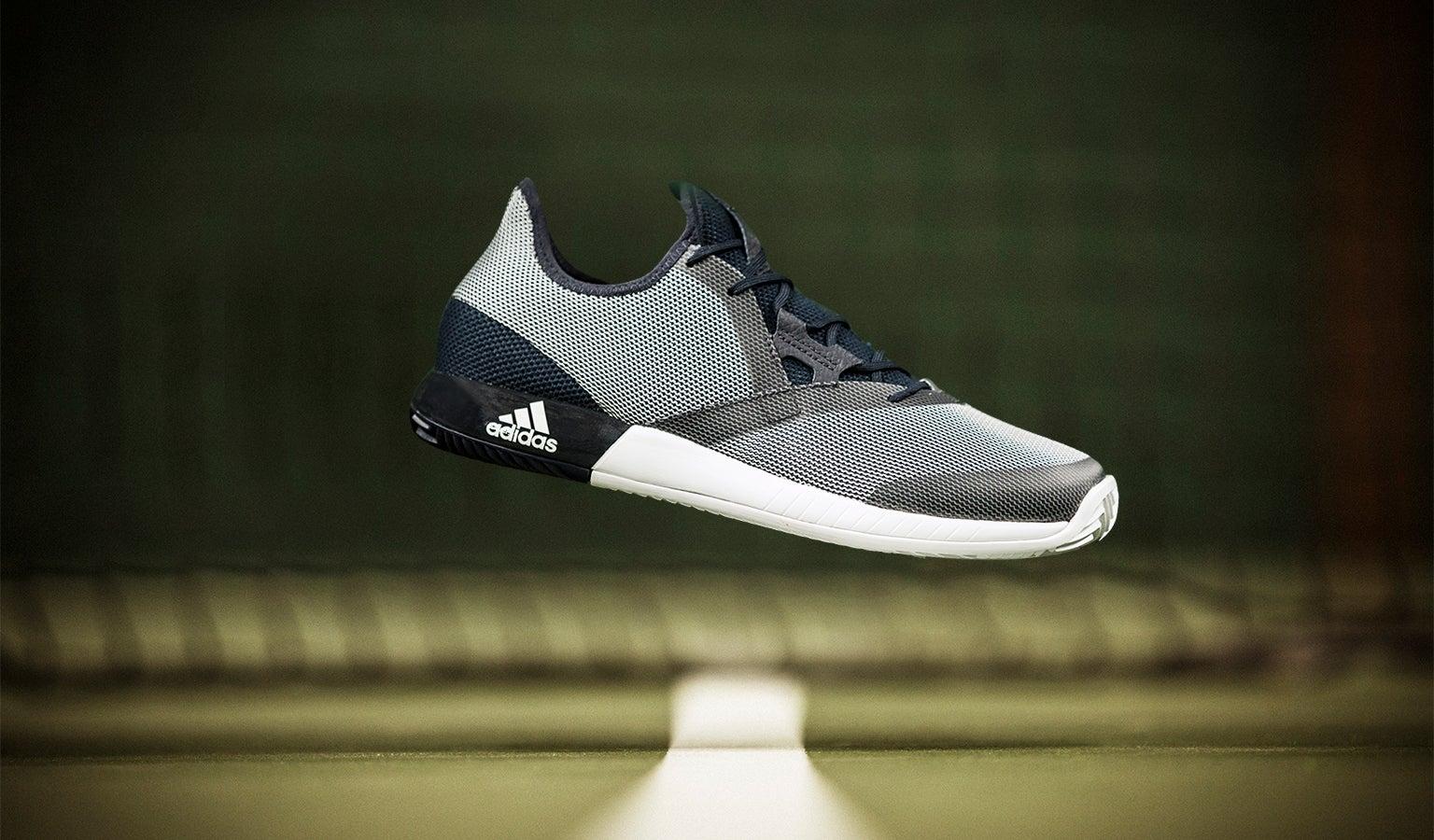 tennis magazzino adidas defiant rimbalzo delle scarpe maschili revisione