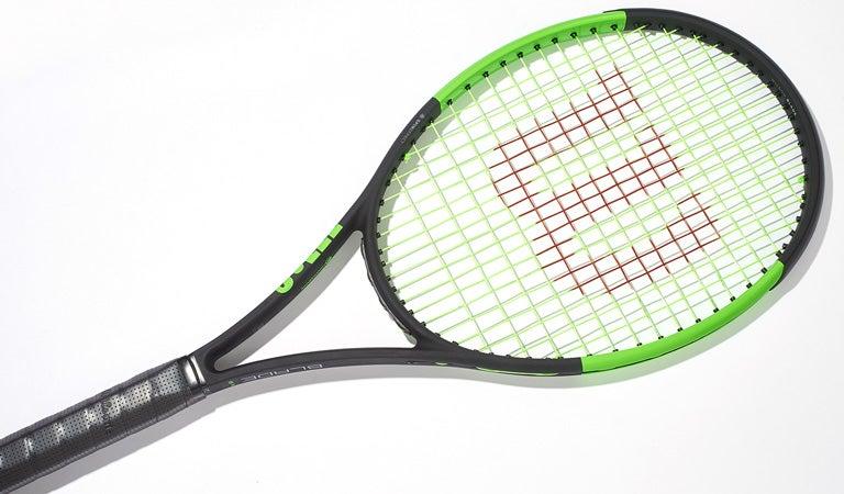 Tennis Warehouse - Wilson Blade 98S (18x16) Countervail Racquet Review