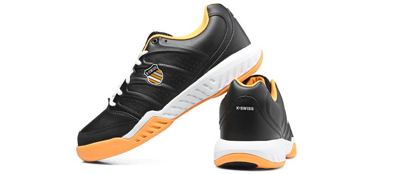 KSwiss Ultrascendor II Black/Orange Men's Shoes