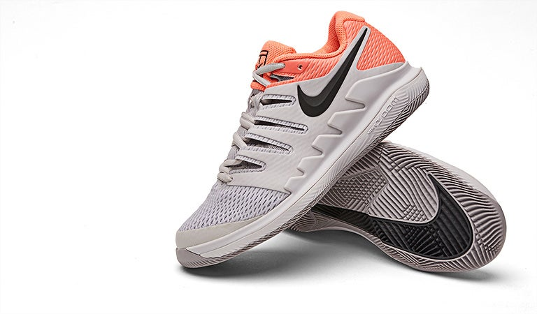 3fefdd07cb5a Tennis Warehouse - Nike Air Zoom Vapor X White Grey Women s Shoe Review