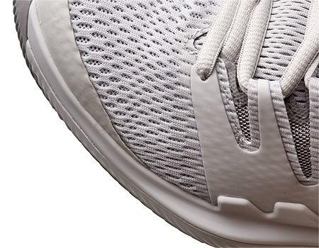 870643fdda06c Tennis Warehouse - Nike Air Zoom Vapor X White Grey Women s Shoe Review