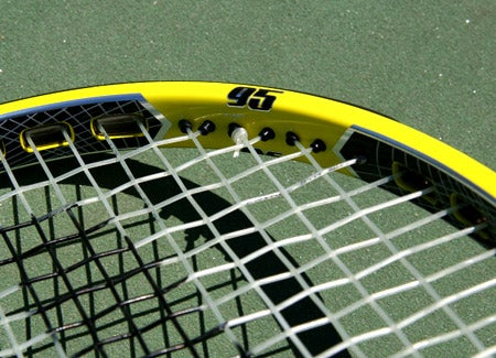 Prince EXO3 Rebel 95 Racquets /> <p>With a lighter/faster feeling spec than the previous version, our testers noted a control-oriented response from the baseline with the new EXO3 Rebel 95. <b>Chris</b>, hoping for more heft and plow, said,