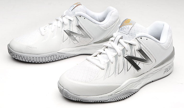 New Balance WC 1006 D Wh/Silver Women's Shoes