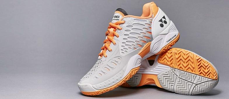Yonex Power Cushion Eclipsion Grey/Orange Women's Shoe