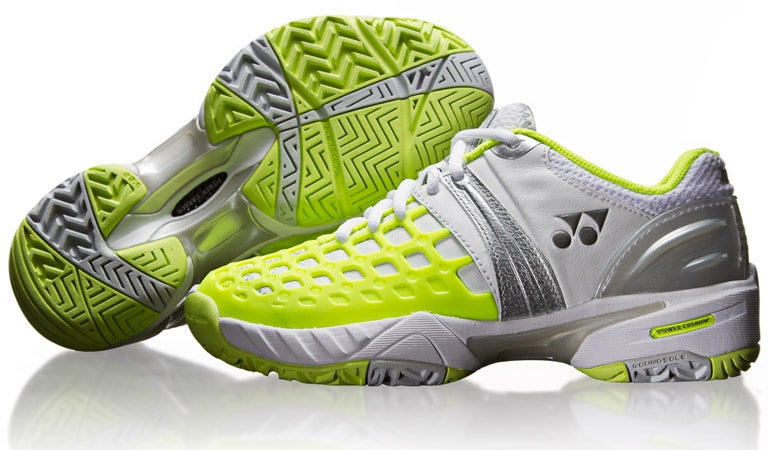 Look at the review,The Women's Nike Shox Agent used SHOX technology in the hind paw, four air column,it's a perfect Nike tennis shoes,they are very