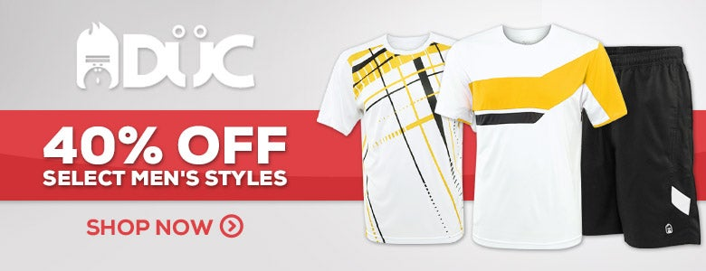 DUC 40% Off Select Styles