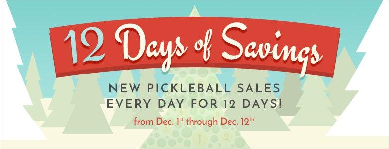 12 days of savings!