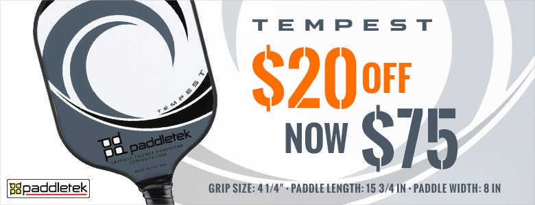 $20 Off Tempest Paddles!
