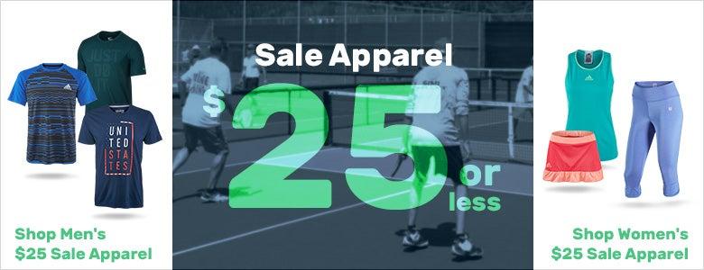 $25 Sale Apparel