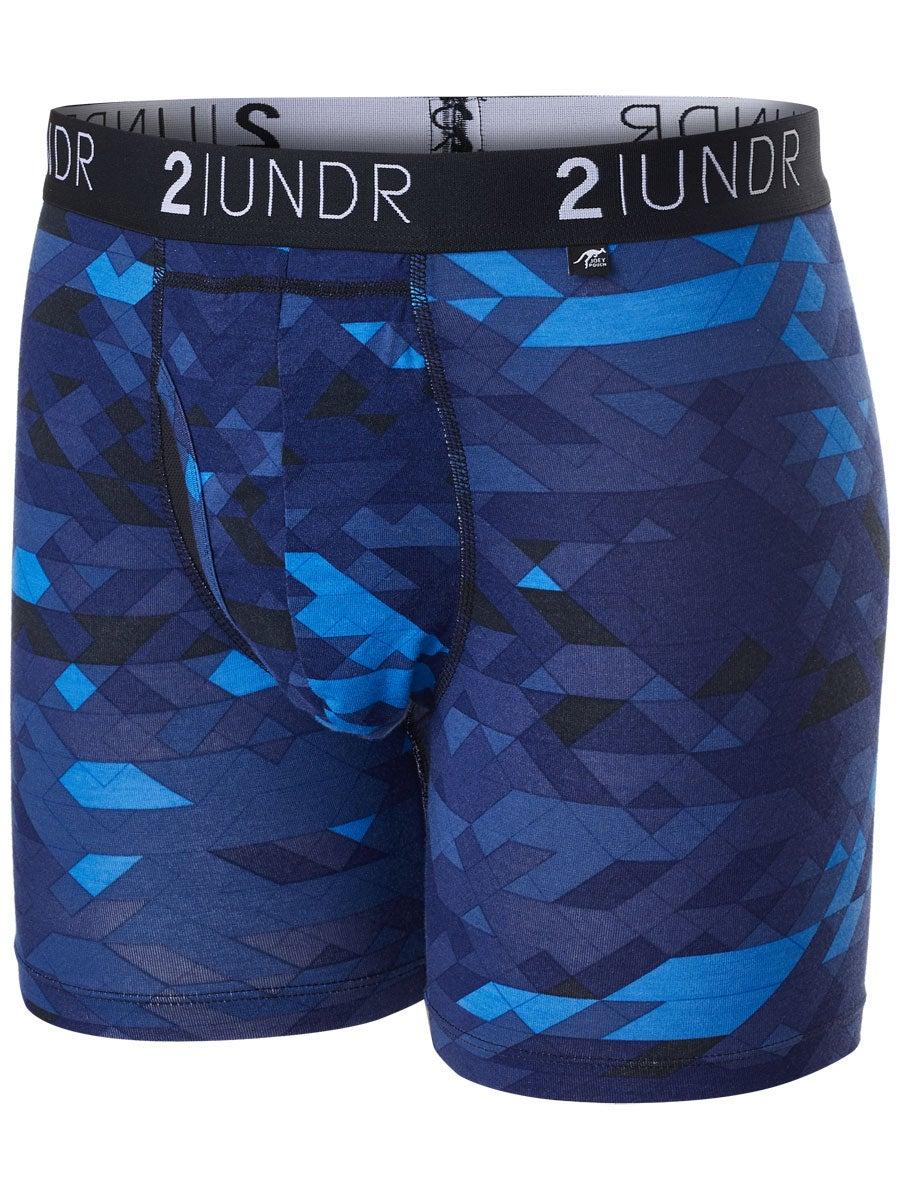 2UNDR Mens Day Shift Boxer Brief