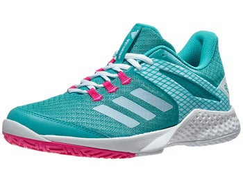 finest selection 59a22 a711b Product image of adidas adizero Club 2 AquaPink Womens Shoes